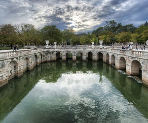 france, reflection, and roman image