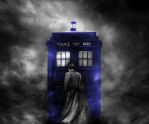 doctor, doctor who, and tardis image