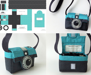 diy, bag, and camera image
