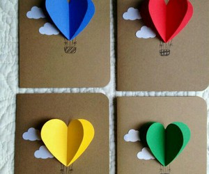 love, diy, and card image