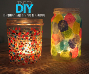 diy, bougies, and photophore image
