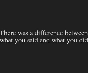 quotes, text, and difference image