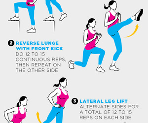 exercise, fitness, and squats image