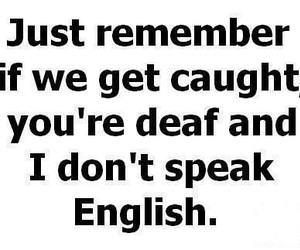 funny, quote, and english image