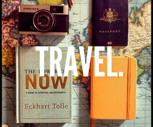 travel, love, and wanderlust image