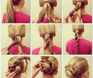 beautiful, hair style, and beauty image