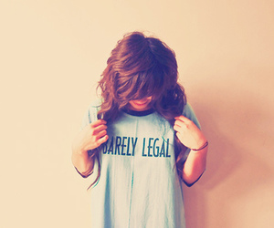 girl, hair, and legal image