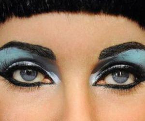 cleopatra, Elizabeth Taylor, and eyes image
