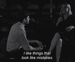 mistakes, quote, and love image