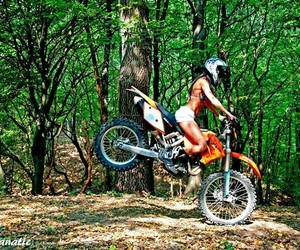 motocross, motorcycle, and beautiful image