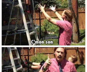 funny, son, and trust image