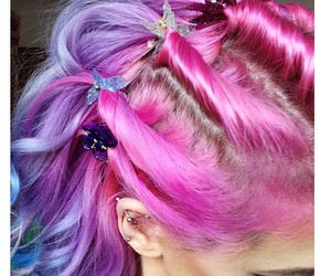 beautiful, hair, and style image