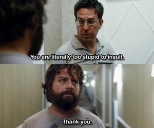funny, hangover, and movie image