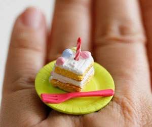 cake, ring, and accessories image