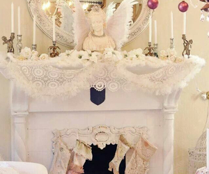 christmas, pretty, and shabby chic image