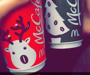 cafe, christmas, and coffe image
