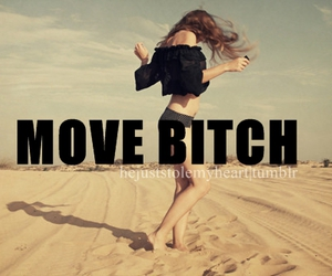 bitch, dance, and Move image