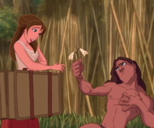 disney, movies, and tarzan image