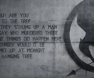mockingjay, song, and hanging tree image