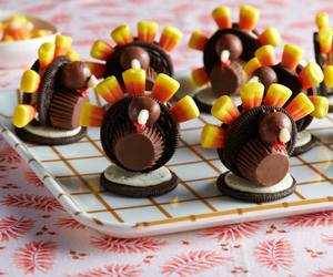 candy corn, food, and oreo image