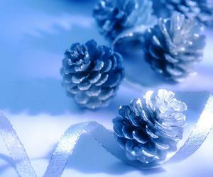 christmas and blue image