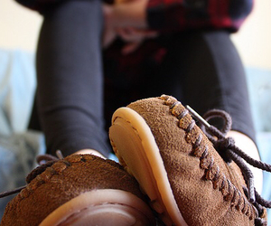 shoes, tumblr, and moccasins image