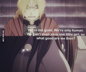 Full Metal Alchemist, anime, and quote image