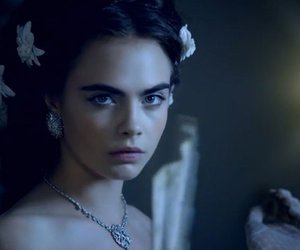 cara delevingne and chanel image