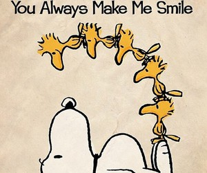smile and snoopy image