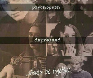 tate, ahs, and violet image