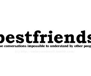 text and bestfriends image
