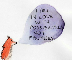 fox, possibilities, and love image