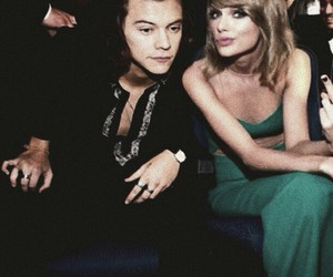 Taylor Swift, one direction, and Harry Styles image