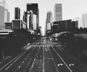 b&w, city, and love image