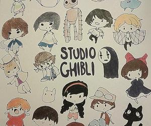 chibi, drawings, and spirited away image