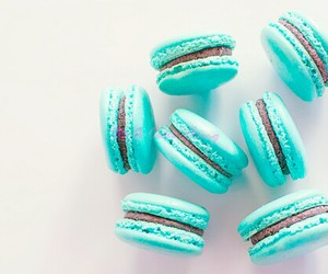 blue, food, and sweets image