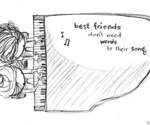 best friends and music image