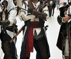 cosplay, voice actor, and connor kenway image