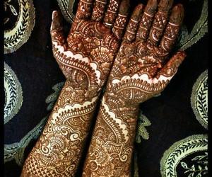 beautiful, bridal, and designs image