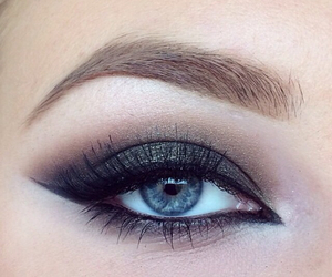 eyeshadows, blue eye, and eye image