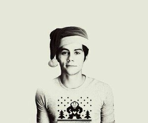 christmas, dylan o'brien, and teen wolf image