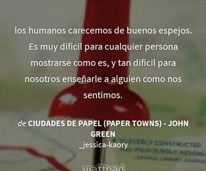 espejos, personas, and paper towns image