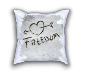 feel good, positive quotes, and throw pillow image