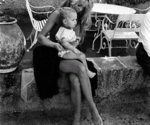 actress, brigitte bardot, and mother image