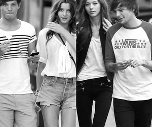 couple, louis tomlinson, and eleanor calder image