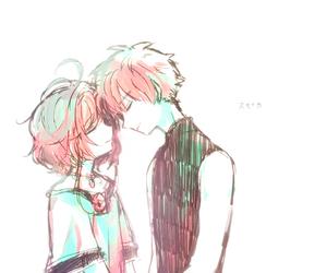 sakura, love, and anime image