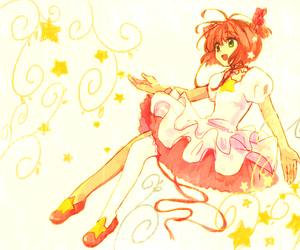 card captors sakura and love image