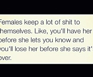 females, rs, and self image