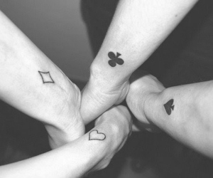 2ne1, black and white, and always image