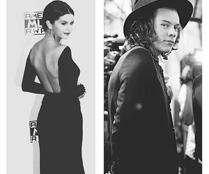 selena gomez, sarry, and Harry Styles image